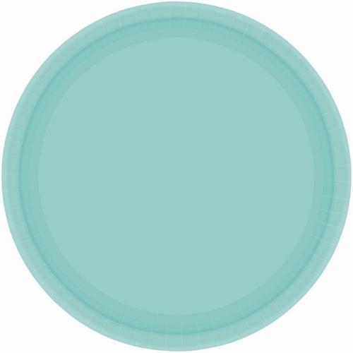 Ppr Plate 7in/17cm Rnd 20PK Ro