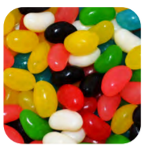 Mixed Jelly Beans MED 1kg