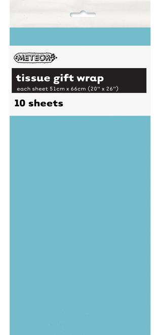 10 TISSUE SHEETS - POWDER BLUE