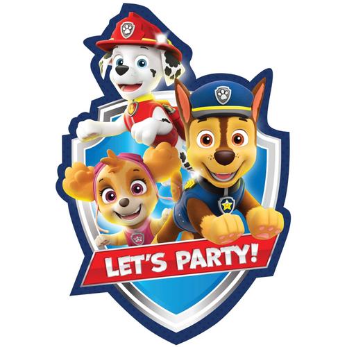 Paw Patrol Adv PC Invite