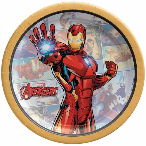 Marvel Powers Unite Iron Man 7 Plate