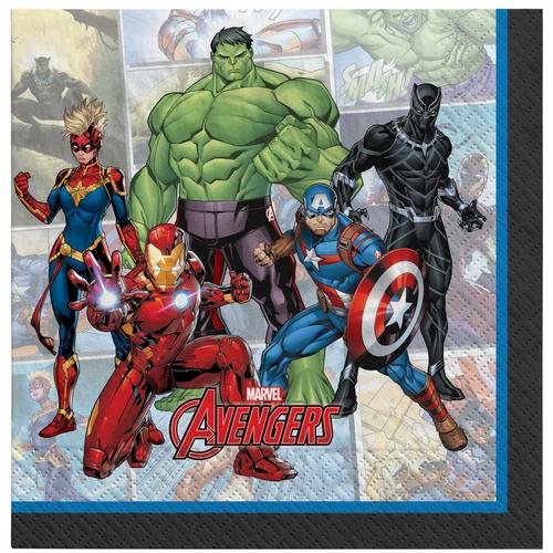 Marvel Powers Unite L/Napkin