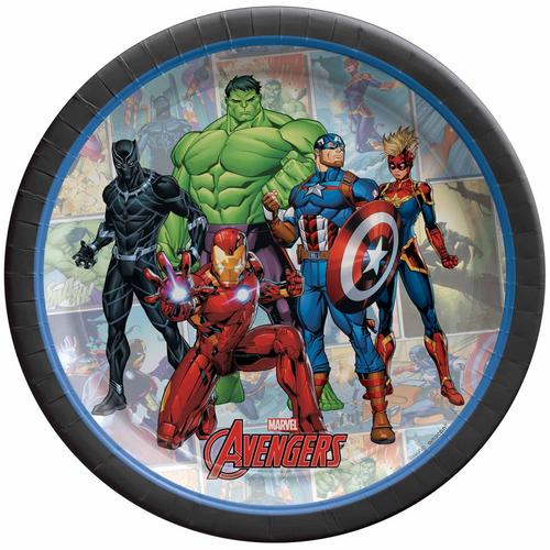 Marvel Powers Unite 7in/17cm Rnd Plate
