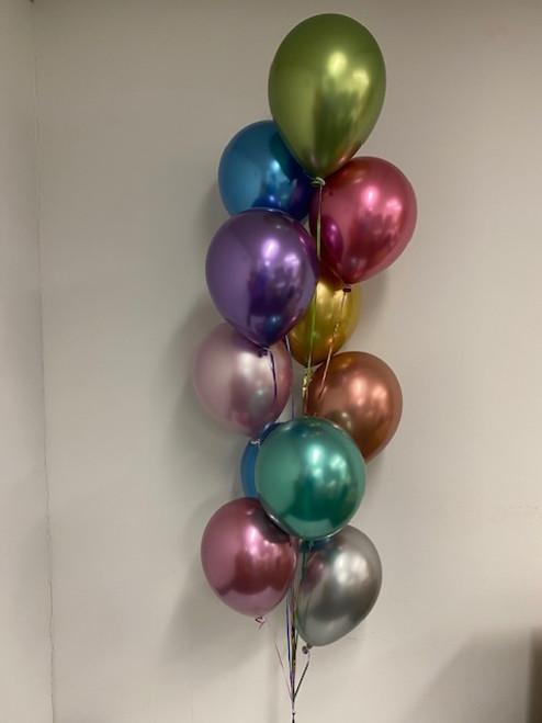 10 Reflex balloons Bouquet