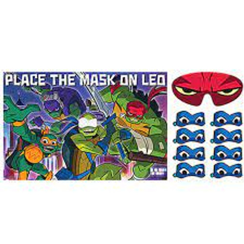 Place The Mask On Leo Party Game
