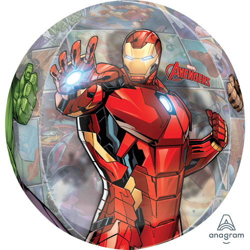 Orbz XL Clear Avengers Powers Unite G40