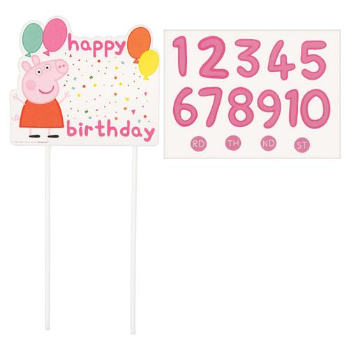 Peppa Pig CNF Customize Cake* Deco