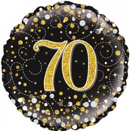 "18"" SPARKLING FIZZ BLACK 70"