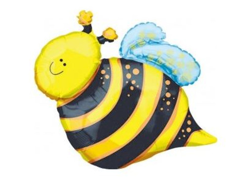 Bee Foil Balloon 65cm x 80cm