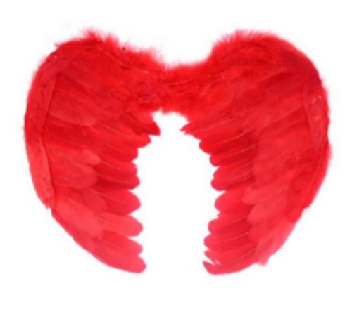 Angel Wing (Small) (Red)