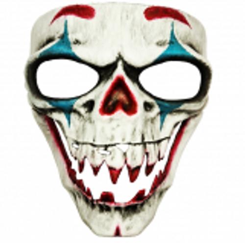 Clown Bone Horror Mask