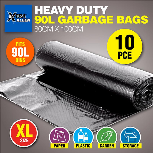 Garbage Bag 90L (80cm x 100cm) 10pk