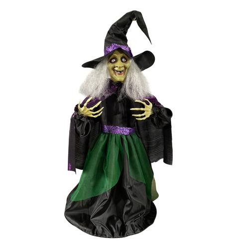 84CM ANIMATED WITCH