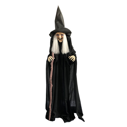 180CM ANIMATED WITCH