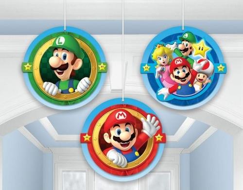 Super Mario Bros Hang Hcomb Deco