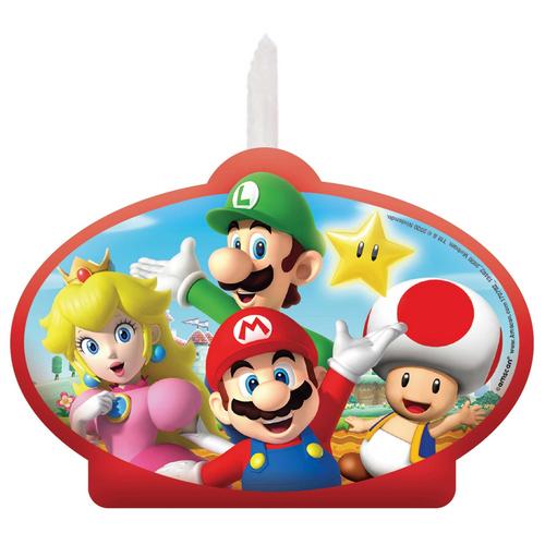Super Mario Bros BDAY Cndl