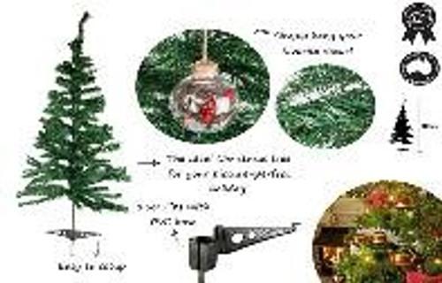 XMAS TREE TRADITIONAL120CM  150 TIPS