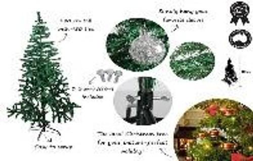 XMAS TREE TRADITIONAL 180CM  450 TIPS
