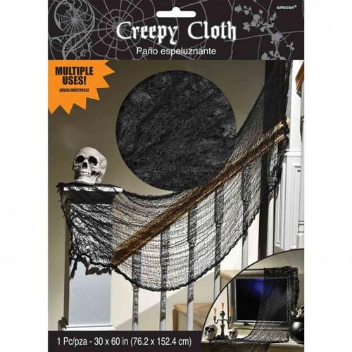 Creepy Cloth Black Deco