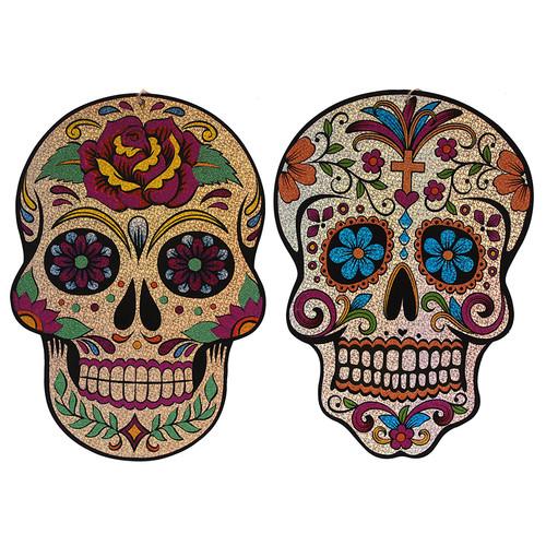 40cm Holographic Skull DOTD