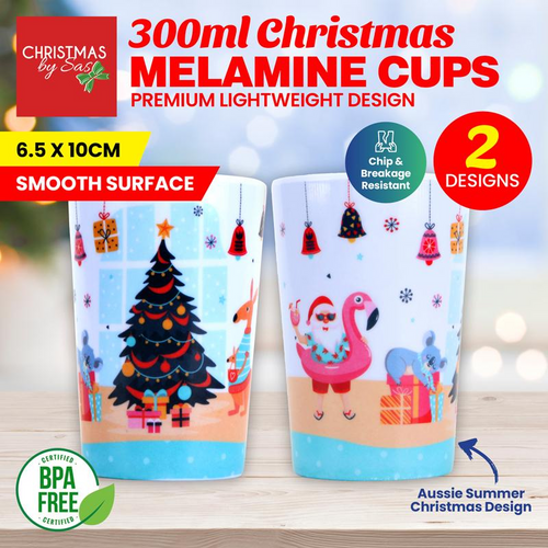 Melamine Cup Christmas 300ml
