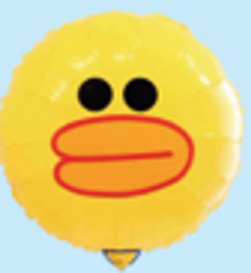 "18"" Duck Face (Yellow) (LKBF-050)"