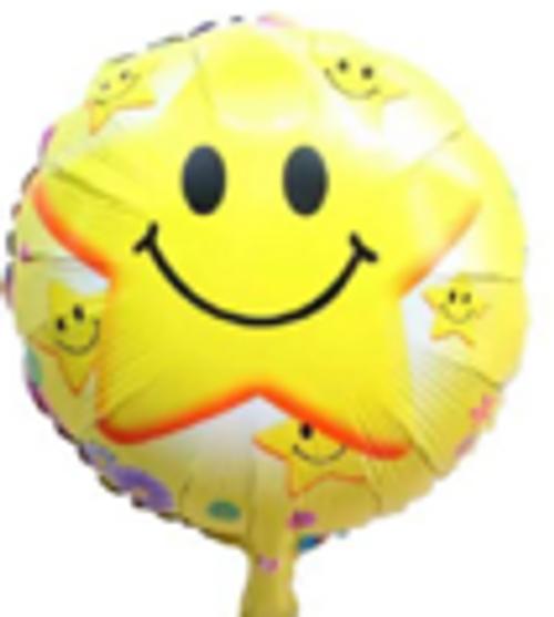 "18"" Smiley Star (C0460)"