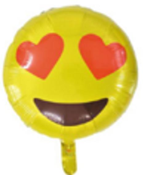"""18"""" Emoji - Love (C212)"""