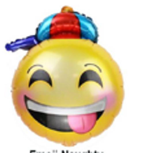 "18"" Emoji - Naughty with Hat (C0566)"