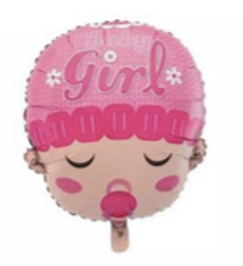 49 x 59cm Baby Girl Head  (CY-C0151)