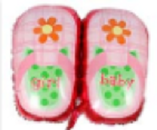 45 x 48cm Baby Girl Shoes (C512)