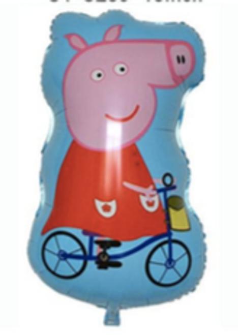 48 x 79cm Riding Peppa Pig (CR-H004)