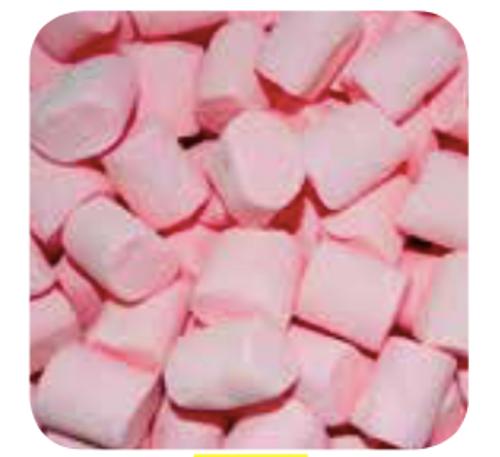 Pink M/Mallow Cylinder 1kg