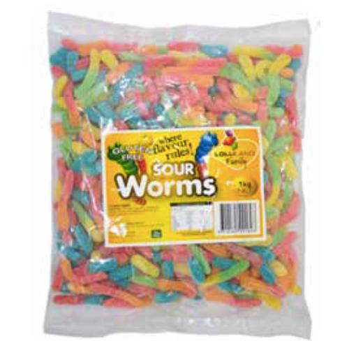 Sour Worms 1kg