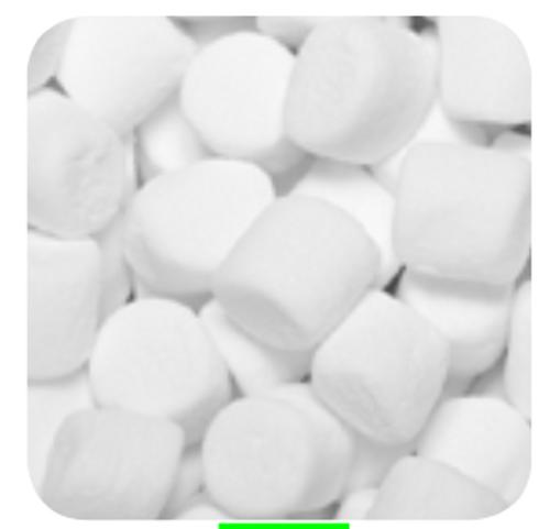 White M/Mallow Cylinder 1kg