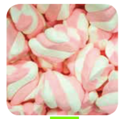 Pink&White Twist Mallow 1kg