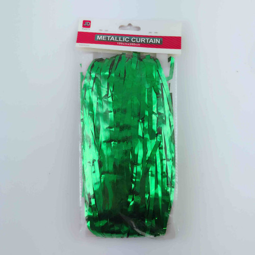 Metallic Curtain (Green)