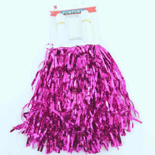Metallic Pom Pom (Hot Pink)