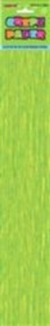 CREPE PAPER - LIME GREEN