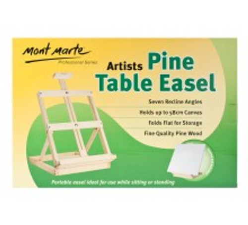 M.M. Small Pine Table Easel (MCG0007)