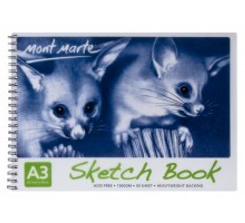 M.M. Sketch Book 150gsm A3 (MSB0008)