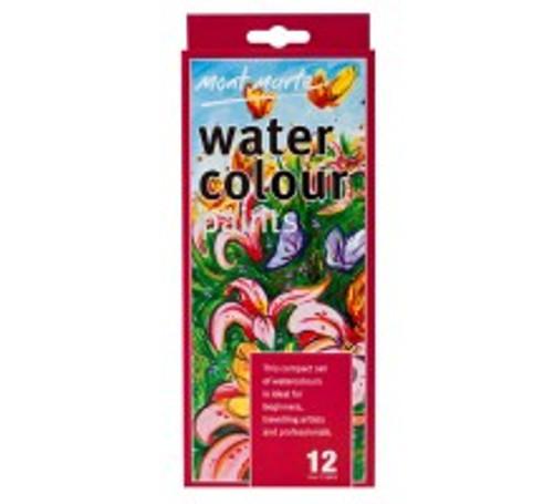M.M. Watercolour Paints 12pce - 12ml (MCG0038)
