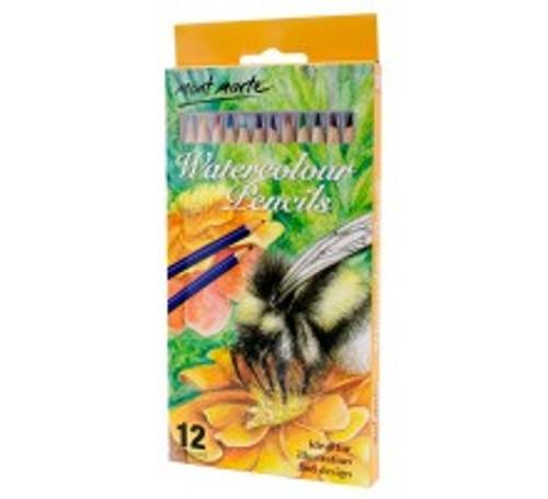 M.M. Watercolour Pencils 12pce (MPN0031)