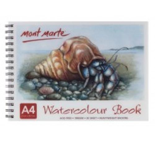 M.M. Watercolour Book 190gsm A4 (MSB0012)