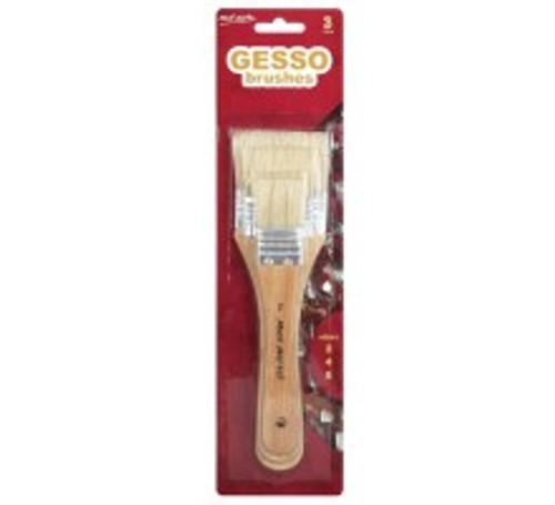 M.M. Gesso Brushes Sizes 2/4/6 (MPB0003)