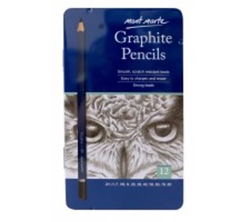 M.M. Graphite Pencils 12pce (MPN0114)