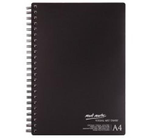 M.M. Visual Art Diary A4 120page (MSB0003)