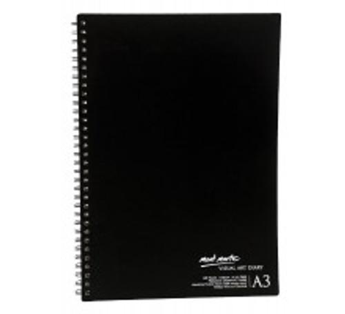 M.M. Visual Art Diary A3 120page (MSB0002)