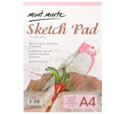 M.M. Sketch Pad 150gsm 25 sheet A4 (MSB0055)