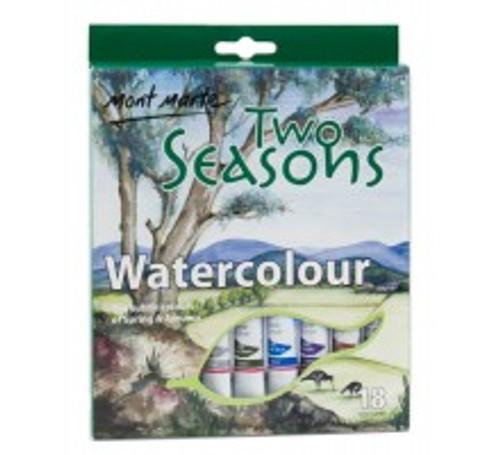 M.M. Two Seasons Watercolours 18pce x 12ml (PMHS0001)